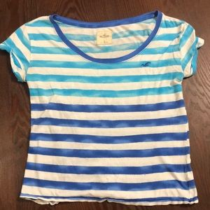 Horizontal Striped Short-Sleeve